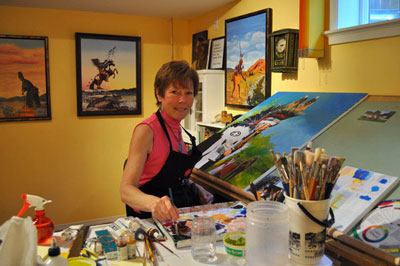 Art Auctioned in Support of South Okanagan Habitat