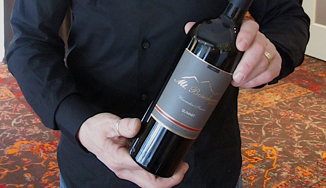 Top points for Mt. Boucherie Winery reserve wines