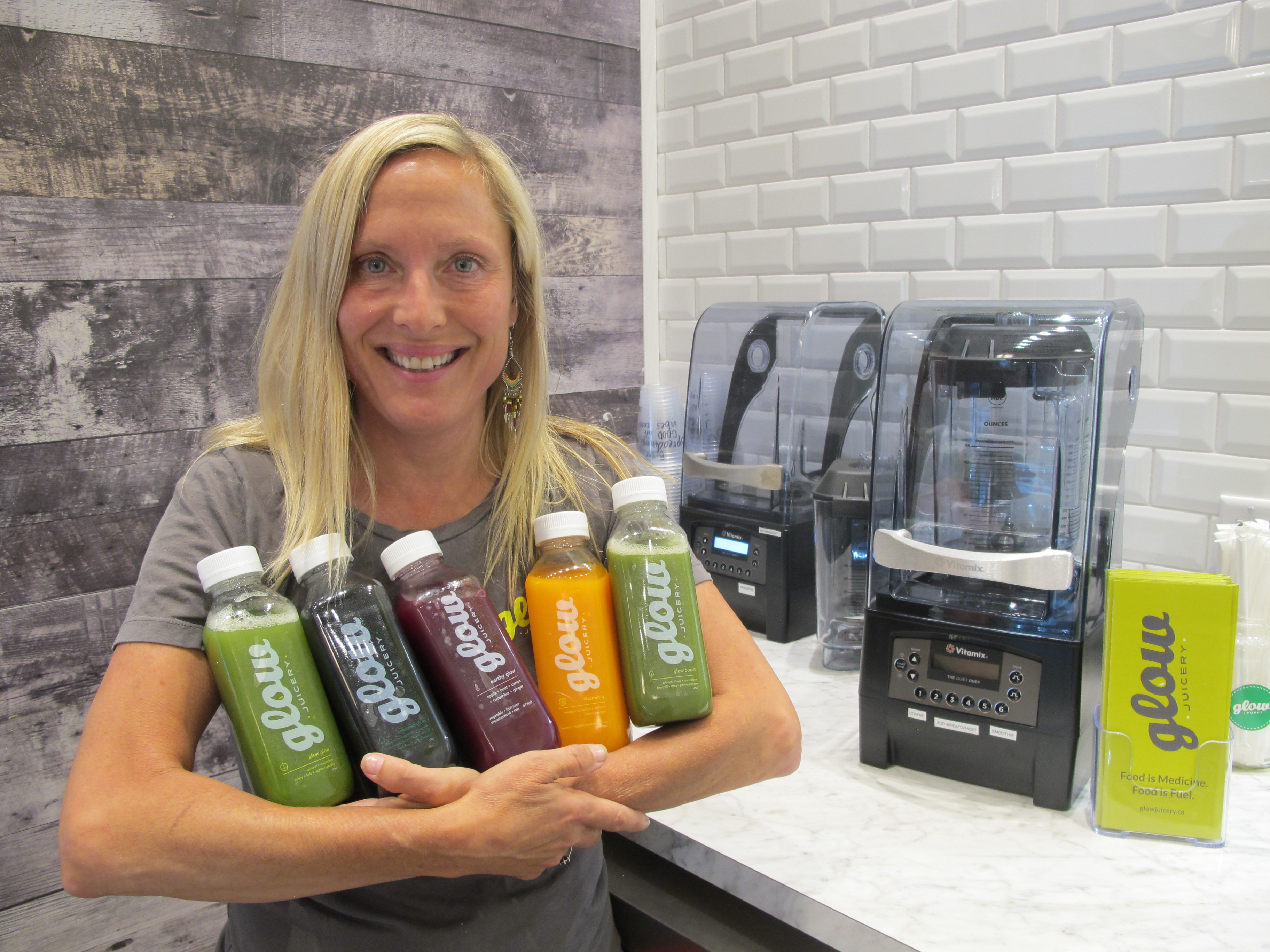 Get your glow on as new juicery opens at Okanagan Centre for Innovation